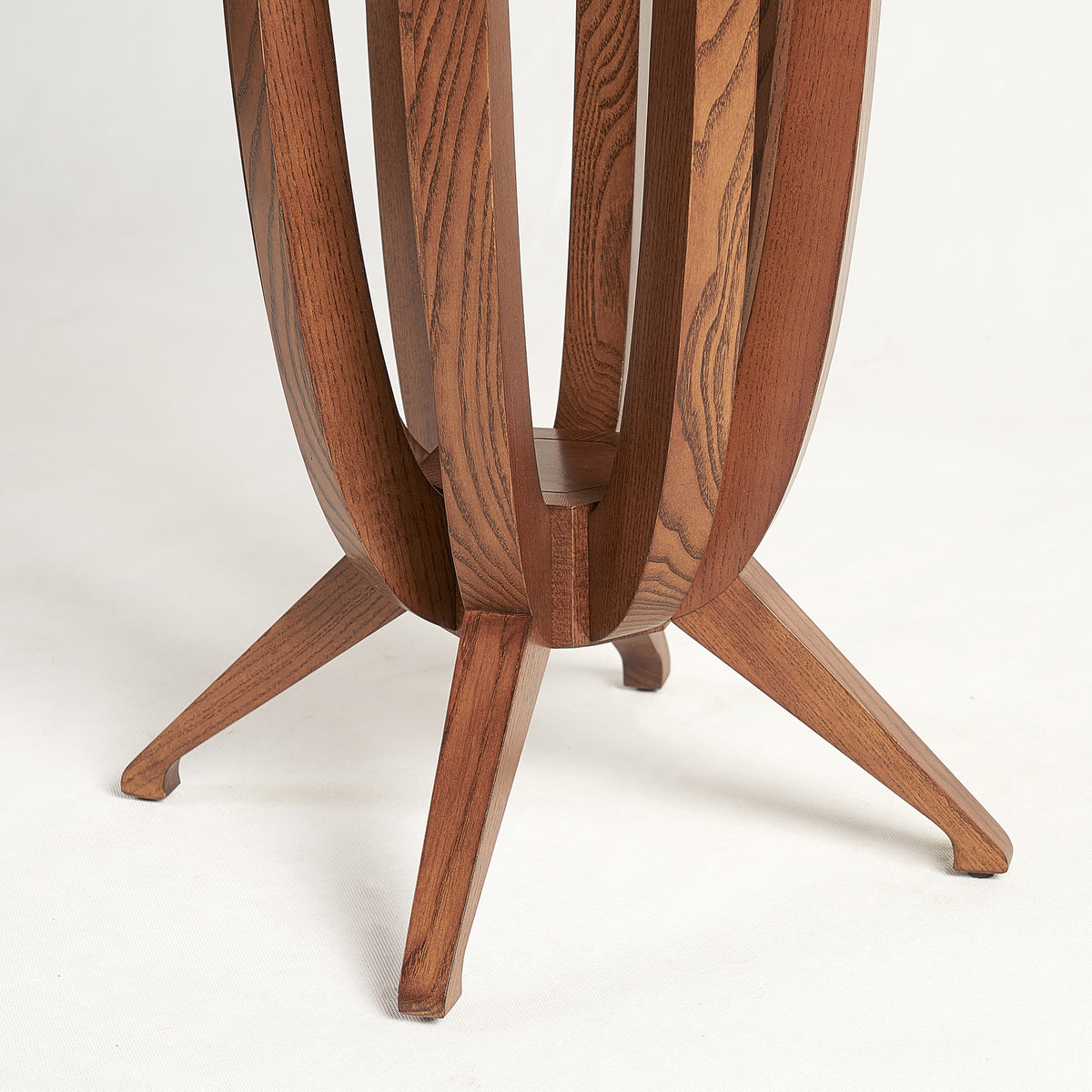 Imperial Deco solid Ash wood Side Table - Cinnamon Ash
