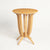 Imperial Deco solid Ash wood Side Table - Honey Ash
