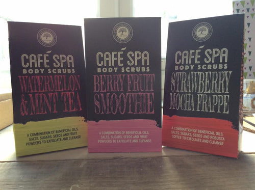 Cafe Spa Body scrubs