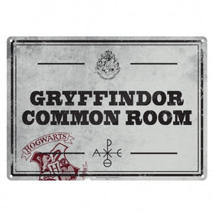 Harry potter tin signs