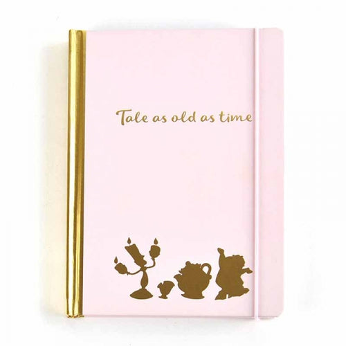 Disney Beauty and the Beast a5 Notebook