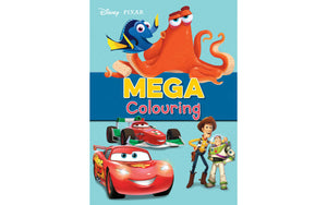 Disney Pixar Mega Colouring Book