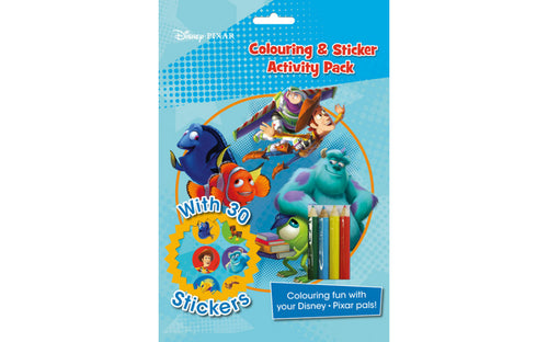 Disney Pixar Colouring & Sticker Activity Pack