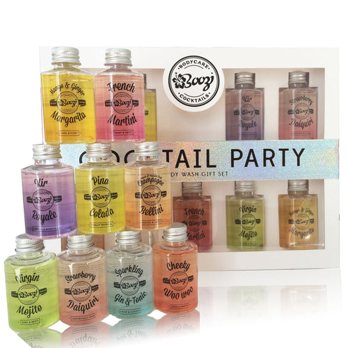 Boozi Body Care Cocktail Party Gift Set