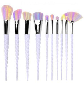 Unicorn Rainbow Make up Brush Set