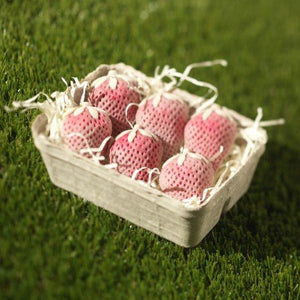 White Chocolate Strawberry Punnet