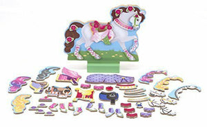 Melissa and Doug My Horse Clover - Magnetic Dress Up