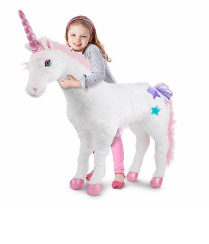 Melissa & Doug Large Unicorn Soft Toy