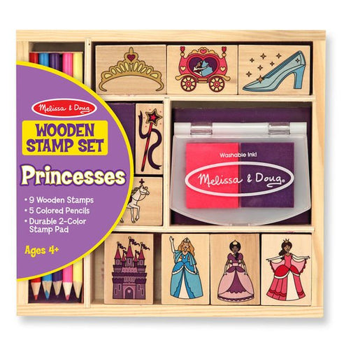 Melissa and Doug Stamp Set - Princesses