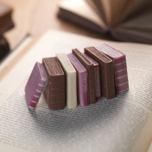 Miniature Chocolate Books