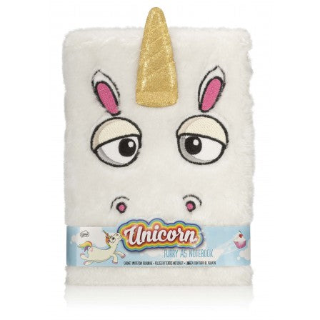 Unicorn - Furry Notebook