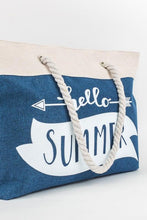 Load image into Gallery viewer, Hello Summer Tote bag
