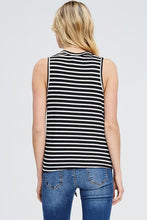 Load image into Gallery viewer, V-Neck Front Tie Tank