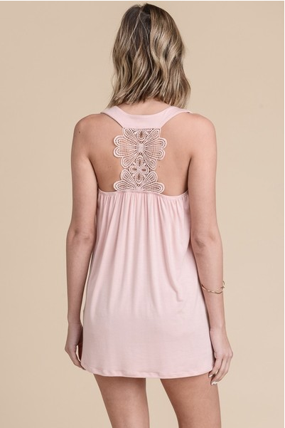 Lace Back Detail Tank