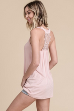 Load image into Gallery viewer, Lace Back Detail Tank