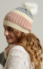 Load image into Gallery viewer, Wide Stripe Beanie