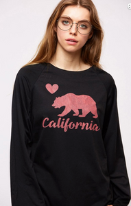 California Love Graphic Top