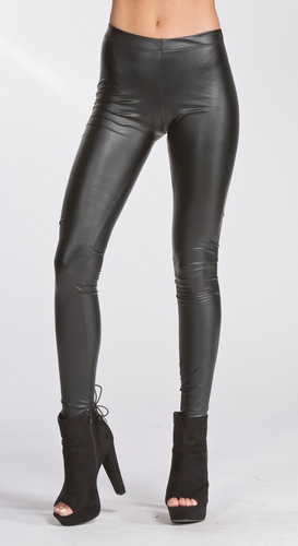 Pleather Legging