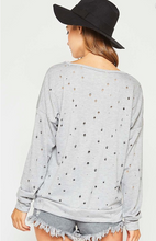 Load image into Gallery viewer, Molly Laser Cut Sweatshirt