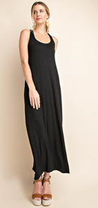 Maxi Dress with Back Detail