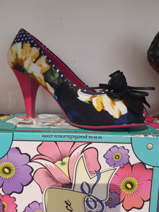 irregular choice Poetic licence concha beach