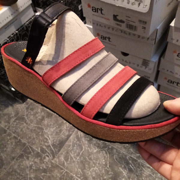 art parma style Wedge 1861 multi leather new collection