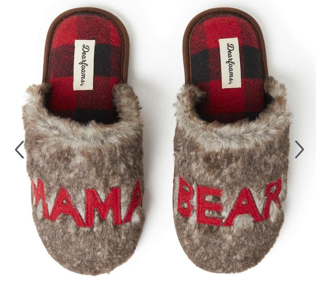 Dearfoams mama bear  slippers