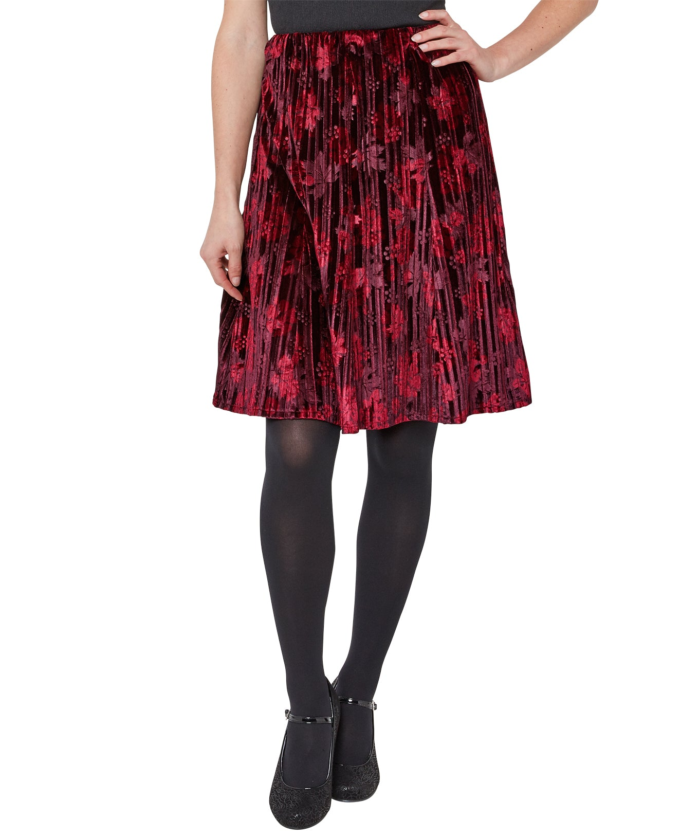 Stunning crushed velvet skirt sale!