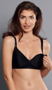 Anita Maternity Miss Anita Bra Black 5070 50% discount