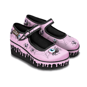 hot chocolate pink widow platform includes uk postage