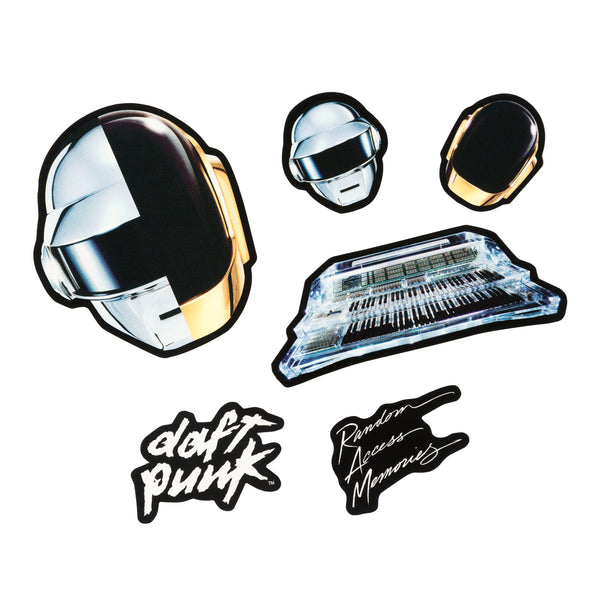 Random Access Memories Sticker Set