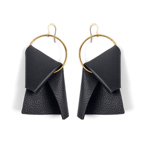 Miami Earrings Black