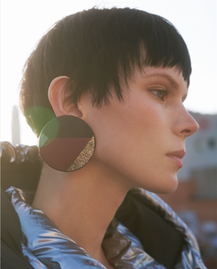 Circunferencia Patchwork Earrings