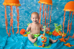 Swimming Pool Photography Backdrop
