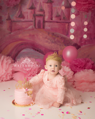 Gracie's Castle Photography Backdrop