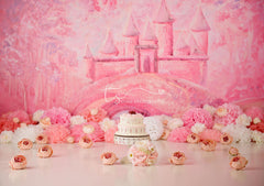 Gracie's Castle D&P Exclusive Photography Backdrop
