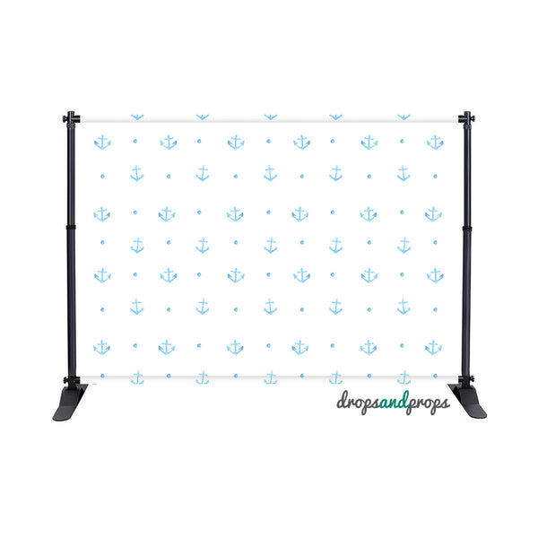 Anchors Away Photography Backdrop
