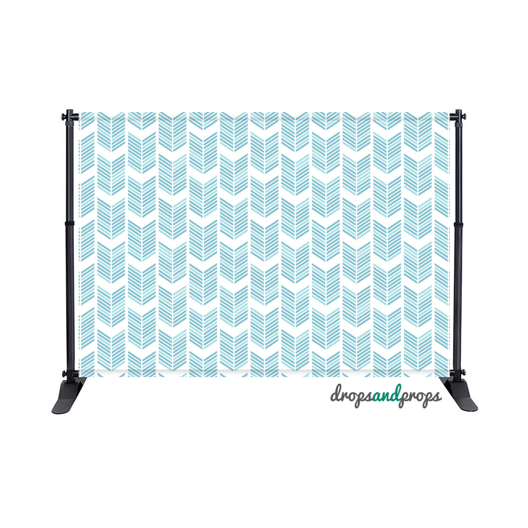 Arrow Pattern Photography Backdrop