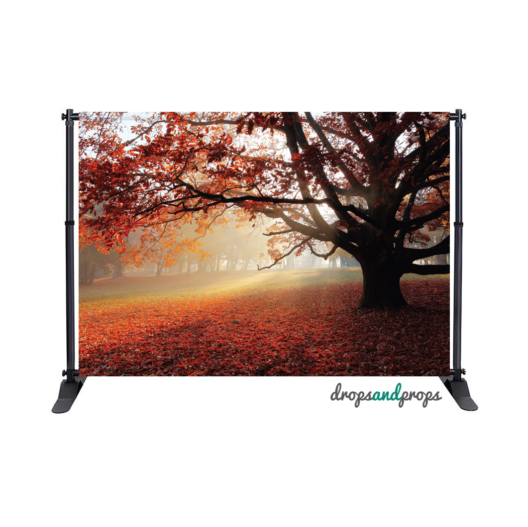 Autumn Leaves Photography Backdrop