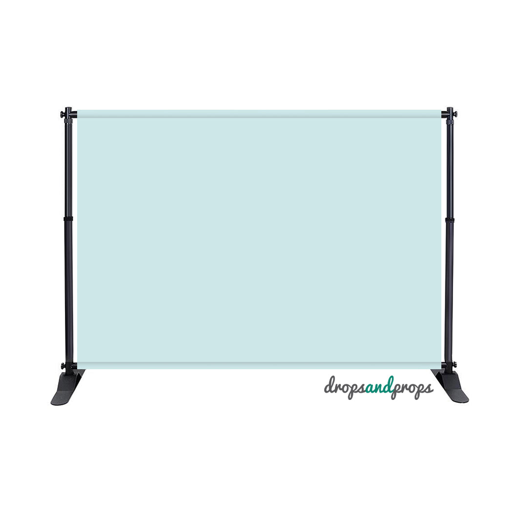 Baby Blue Solid Photography Backdrop