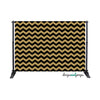 Black & Gold Chevron Photography Backdrop