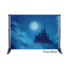 Blue Castle Photography Backdrop