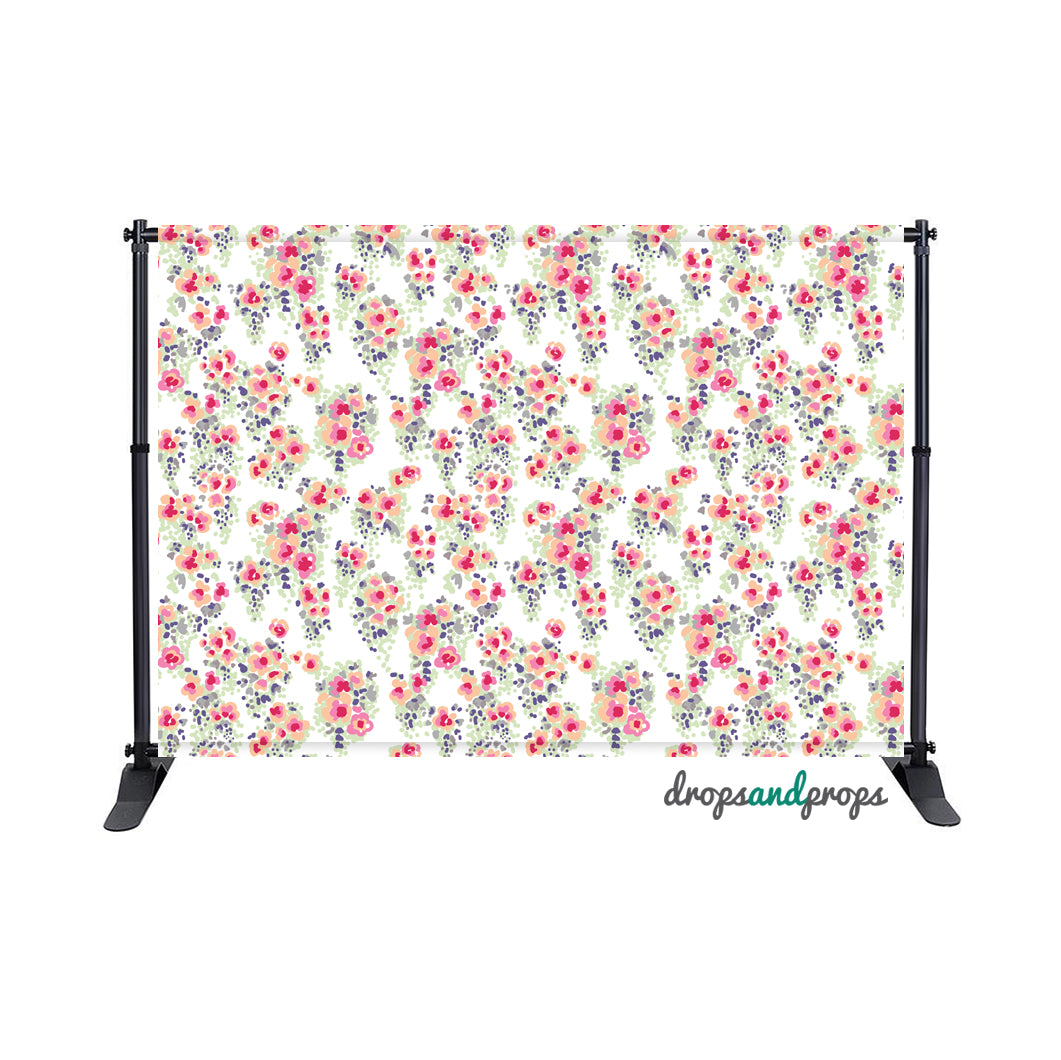 Bring May Flowers Photography Backdrop
