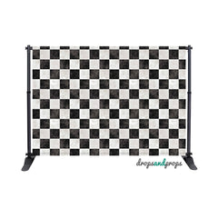 Checkered Floor Photography Backdrop