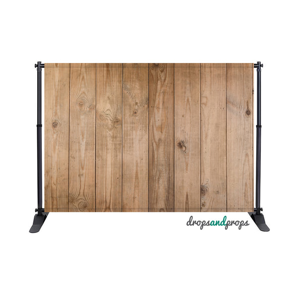 Chestnut Wood Floor Photography Backdrop