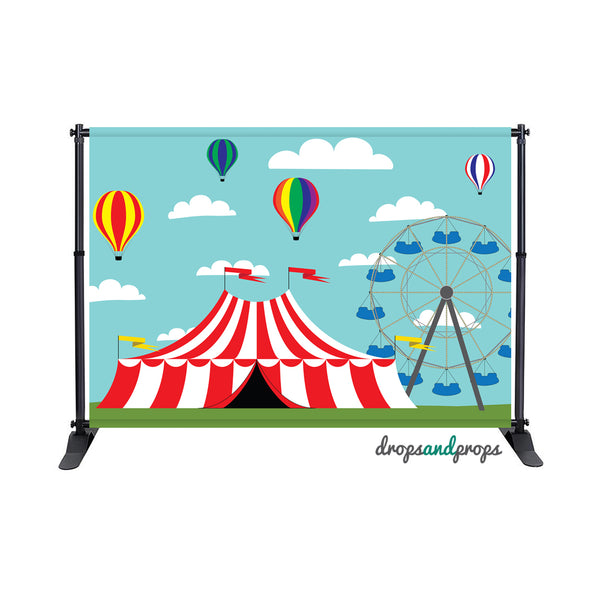 Circus Photography Backdrop