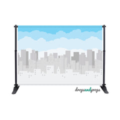 City Lights Photography Backdrop