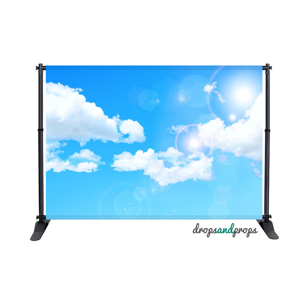 Clouds Photography Backdrop