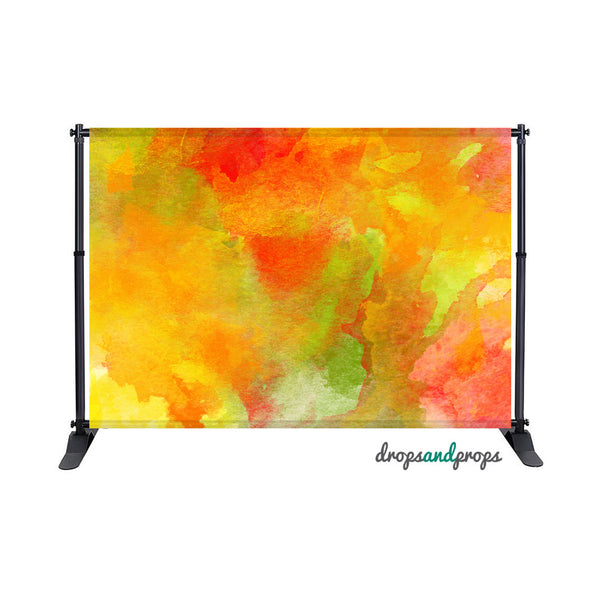 Color Me October Photography Backdrop