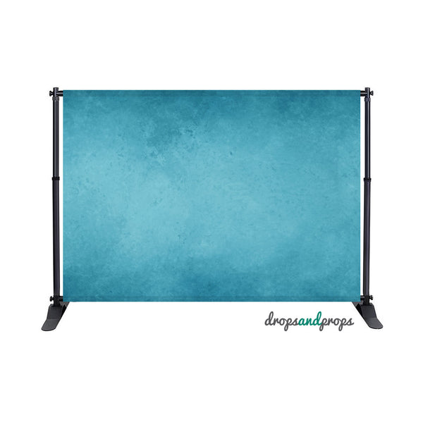 Cool Blue Texture Photography Backdrop